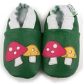 Augusta Baby Mushroom Soft Sole Leather Shoes