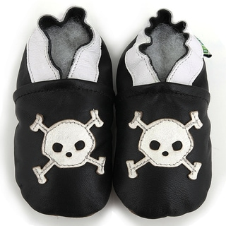 Augusta Baby Skull Soft Sole Leather Shoes