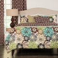 Blooming Bulb Harvest Reversible Duvet Cover and Insert Set