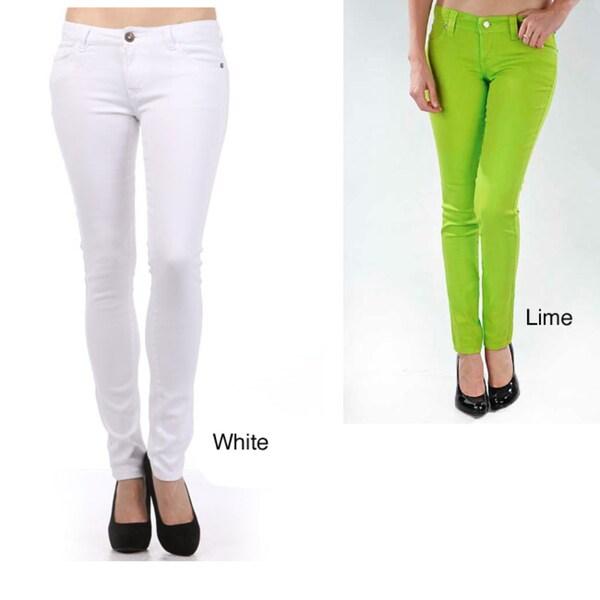 Tabeez Women's Color Stretch Jeans