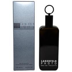 Karl Lagerfeld 'Photo' Men's 4.2-ounce Eau de Toilette Spray