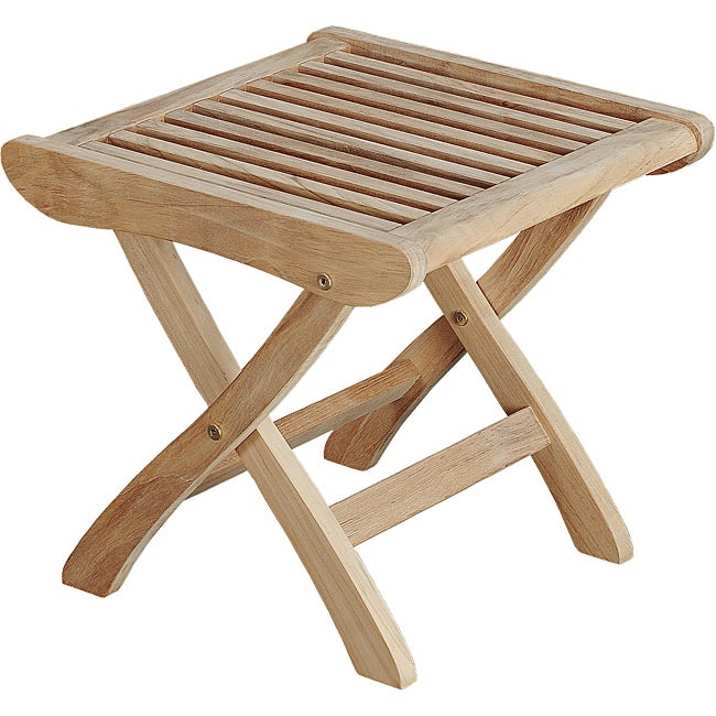 Solid Teak Foot Stool