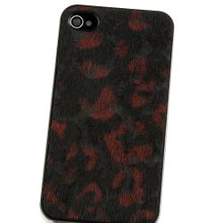 BasAcc Colorful Leopard Feather Snap-on Case for Apple iPhone 4/ 4S