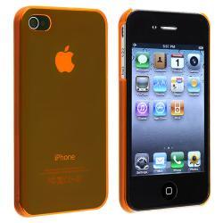 BasAcc Orange Slim-fit Snap-on Case for Apple iPhone 4/ 4S