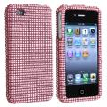 BasAcc Light Pink Diamond Snap-on Case for Apple iPhone 4/ 4S
