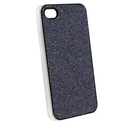 INSTEN Black Bling Snap-on Phone Case Cover for Apple iPhone 4/ 4S