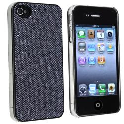 BasAcc Black Bling Snap-on Case for Apple iPhone 4/ 4S