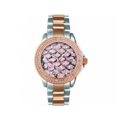 Joe Rodeo Women's Snake Zebra Diamond Watch