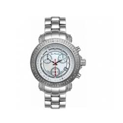 Joe Rodeo Women's Rio White Mother-of-Pearl Dial Diamond Watch