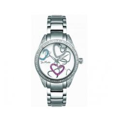 Joe Rodeo Women's Secret Heart Water-Resistant Diamond Watch