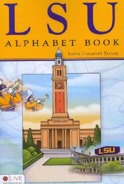 LSU Alphabet Book: Elive Audio Download Included (Paperback)
