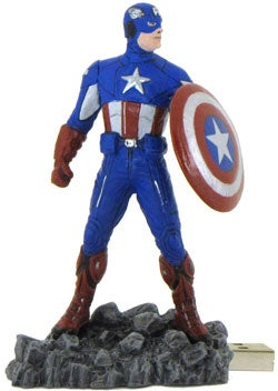 Marvel's Avengers Captain America 8 GB USB Flash Drive