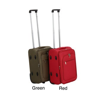 Benzi 20-inch Expandable Rolling Carry-on Polyester Upright Luggage