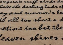 nuLOOM Handmade Poem Wool Rug (6' x 9')