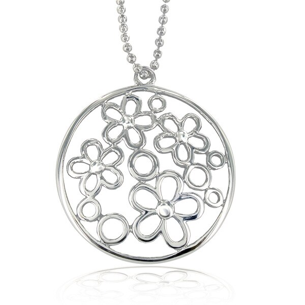 Stainless Steel Flower Power Necklace