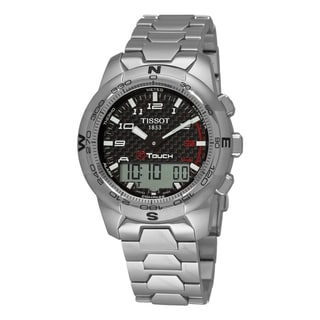 Tissot Men's 'T-Tactile T-Touch II' Multi-Function Titanium Watch