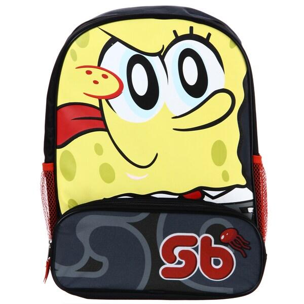 Nickelodeon Sponge Bob Square Pants 16-inch Backpack