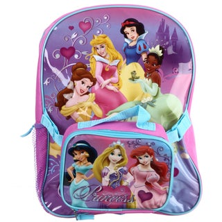 Disney Princess 16-inch Backpack with Lunch Bag