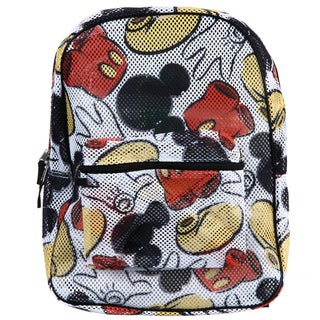Disney mickey mouse all over print mesh backpack overstock shopping