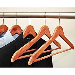 Aromatic Cedar Hangers (Pack of 24)