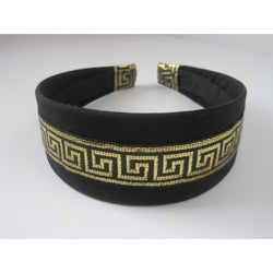 Crawford Corner Shop Black and Gold Headband