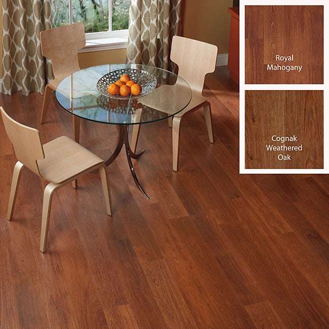 DIY 12mm Micro Beveled Laminate Flooring (16.22 SF)