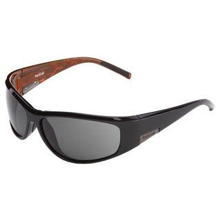 Bolle Men's Black/ Orange Sunglasses