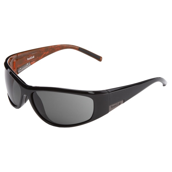 Bolle Men's Black/ Orange Sunglasses