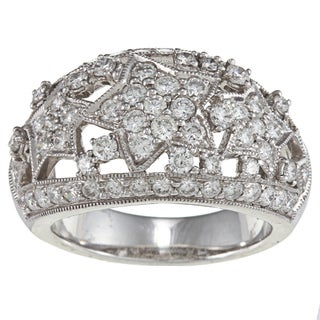 Platinum 2-1/10ct TDW Star Estate Ring (H-I, SI1-SI2)