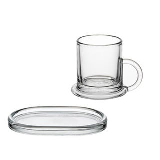 La Rochere 'Ring' Decor 6-piece Espresso Cup and Saucer Set