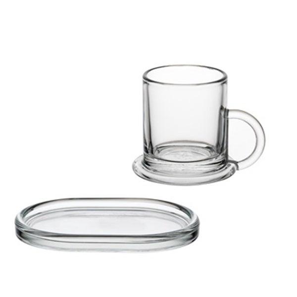 La Rochere 'Ring' Decor 6-piece Espresso Cup and Saucer Set