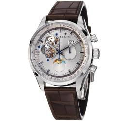 Zenith Men's 'Chronomaster XXT Open' Silver Dial Power Reserve Watch