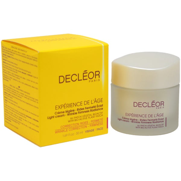 Decleor Experience De L'Age Wrinkle Correction Firmness 1.69-ounce Cream