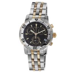 Tissot Men's 'PR 100' Two-tone Stainless Steel Chronograph Watch