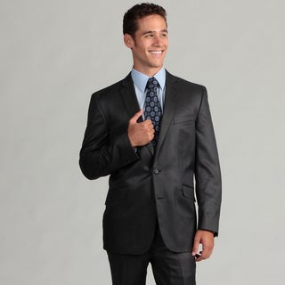Kenneth Cole Reaction Men&#39;s Navy Slim Fit Suit