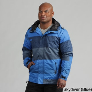 Zonal Men's Wide Stripe Snowboarding Jacket
