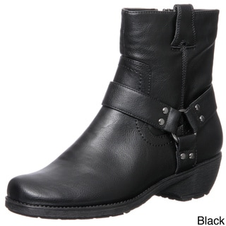 Aerosoles Women's 'Destiny' Buckle Detail Ankle Boots FINAL SALE