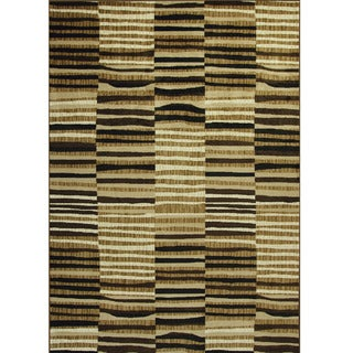 Allestra Safari Brown Area Rug (7' x 10')