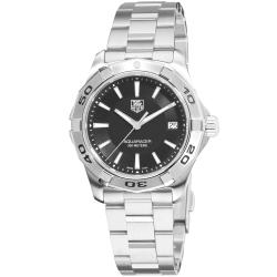 Tag Heuer Men's WAP1110.BA0831 'Aquaracer' Black Dial Stainless Steel Quartz Watch