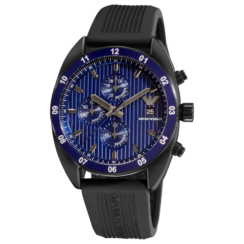 Emporio Armani 'Sport' AR5930 Men's Blue Dial Chronograph Watch