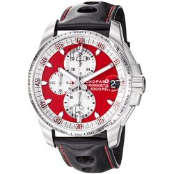 Chopard Men's 'Miglia Gran Turismo XL' Red Dial Chronograph Watch