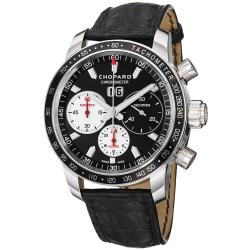 Chopard Men's 'Miglia Jacky Ickx' Chronograph Black Strap Watch