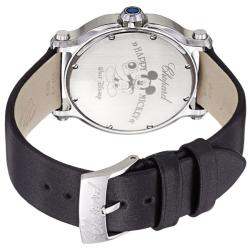 Chopard Women's 278475-3033 LBK 'Happy Sport Round' Mother of Pearl Mickey Mouse Watch