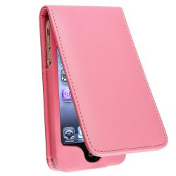 BasAcc Light Pink Leather Case for Apple iPhone 4/ 4S