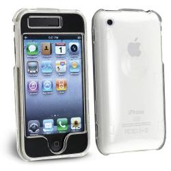 INSTEN Clear Snap-on Crystal Phone Case Cover for Apple iPhone 3G/ 3GS