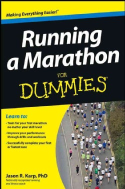 Running a Marathon for Dummies (Paperback)