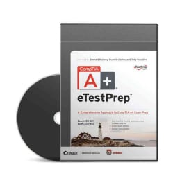 CompTIA A+ eTestPrep: A Comprehensive Approach to CompTIA A+ Exam Prep, Exams 220-801 and 220-802 (CD-ROM)