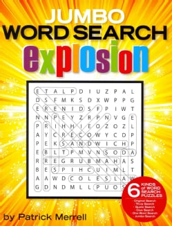 Jumbo Word Search Explosion (Paperback)