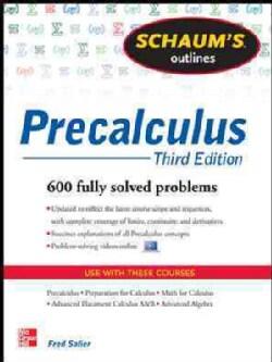 Schaum's Outline of Precalculus (Paperback)