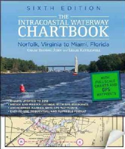 The Intracoastal Waterway Chartbook: Norfolk, Virginia, to Miami, Florida (Paperback)